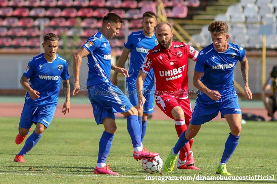 Rezumat: FC Voluntari - FC Dinamo Bucuresti 0-1 (0-0 ...  |Dinamo București-voluntari