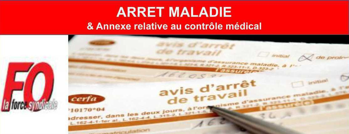 Arret Maladie Controle Medical