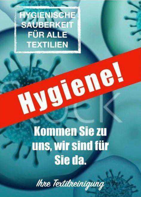 -25% auf Reinigung von Heimtextilien!
