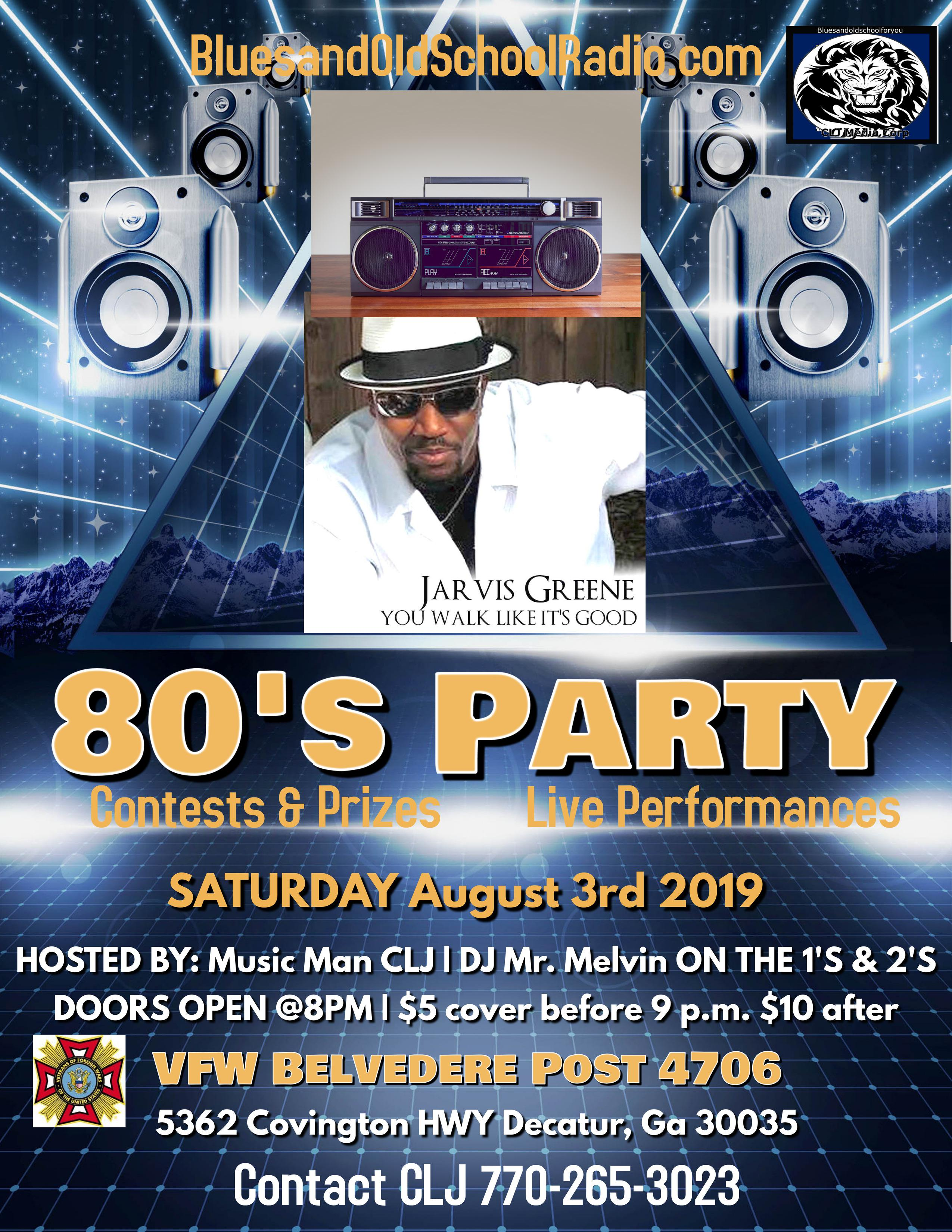 80's Party At VFW Redone