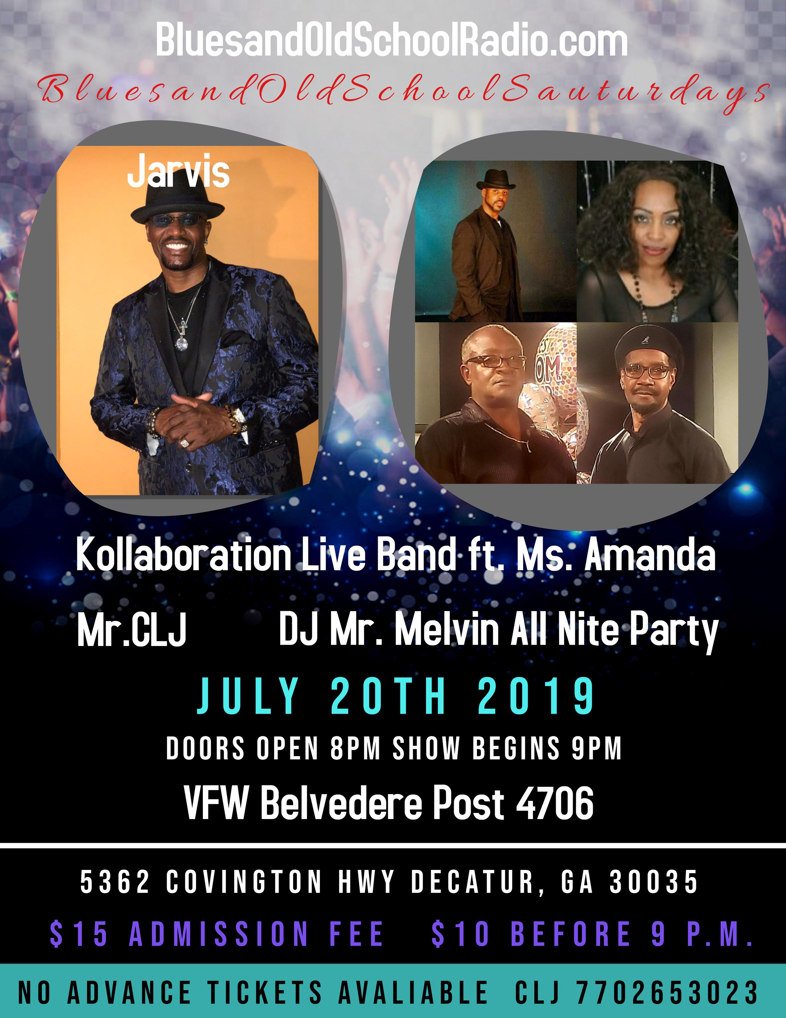 Jarvis & Kollaboration Live July 20th