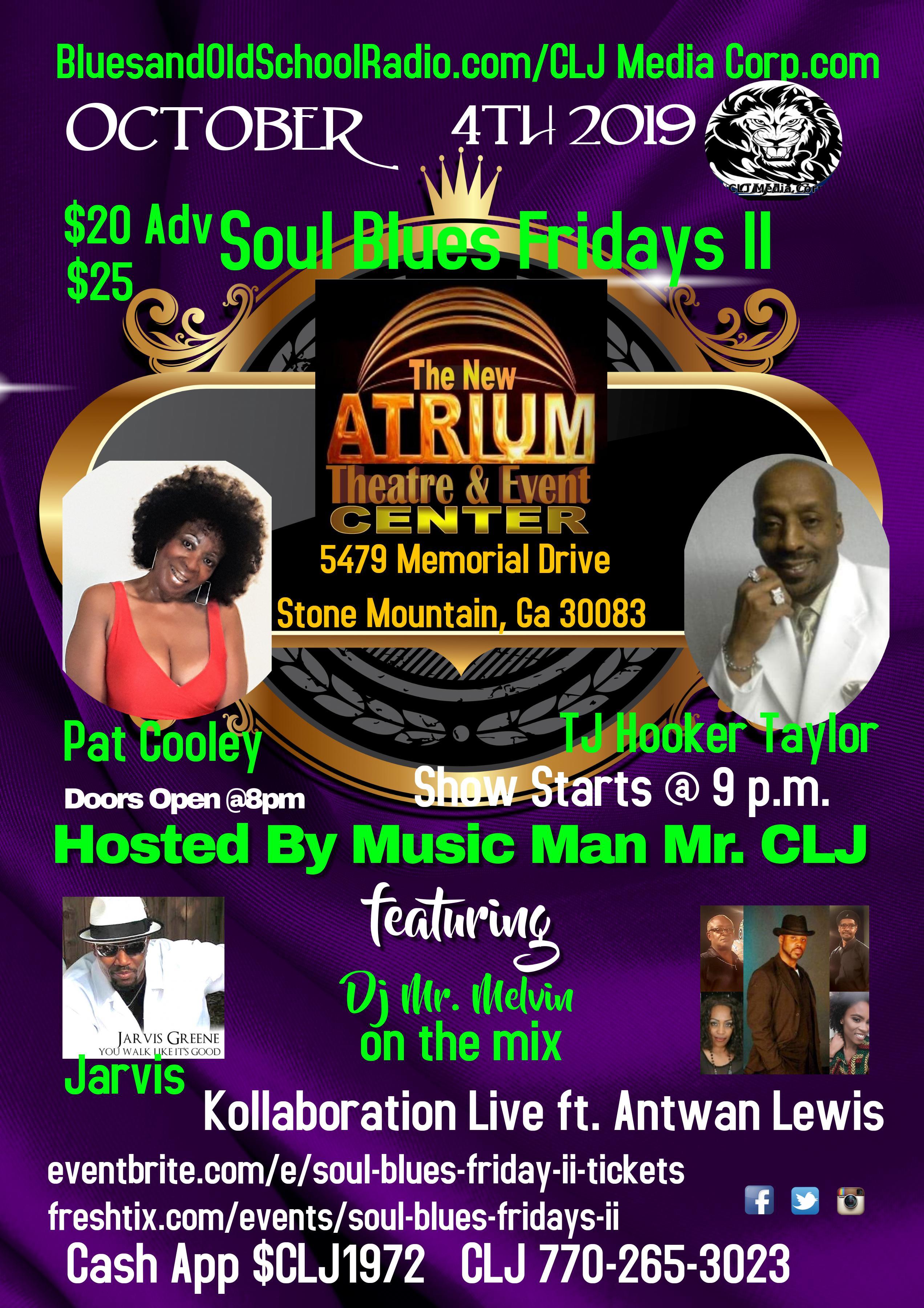 Soul Blues Fridays II