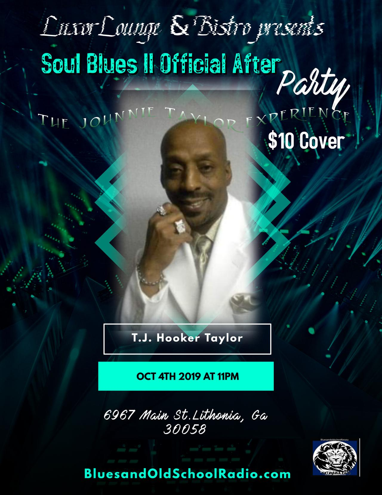 Soul Blues II After Party flyer template