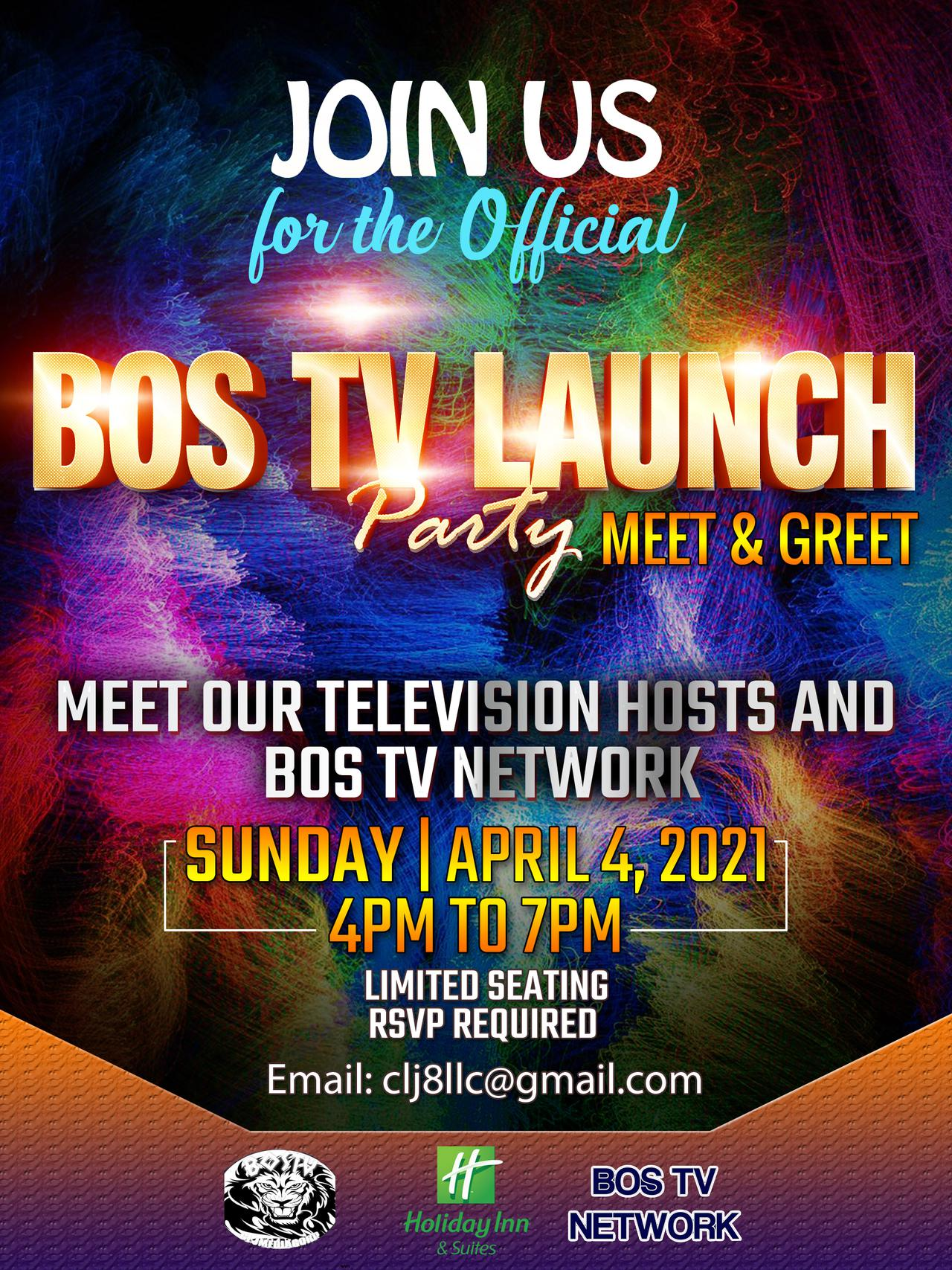 Blues and Old School TV official LAUNCH PARTY 2021