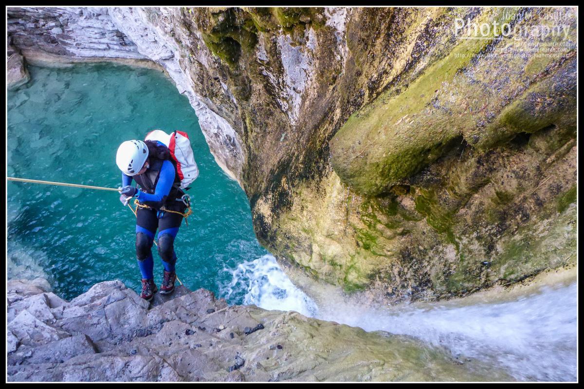 La Cascada de Orós Bajo, pequeño paraíso esculpido durante siglos por el agua