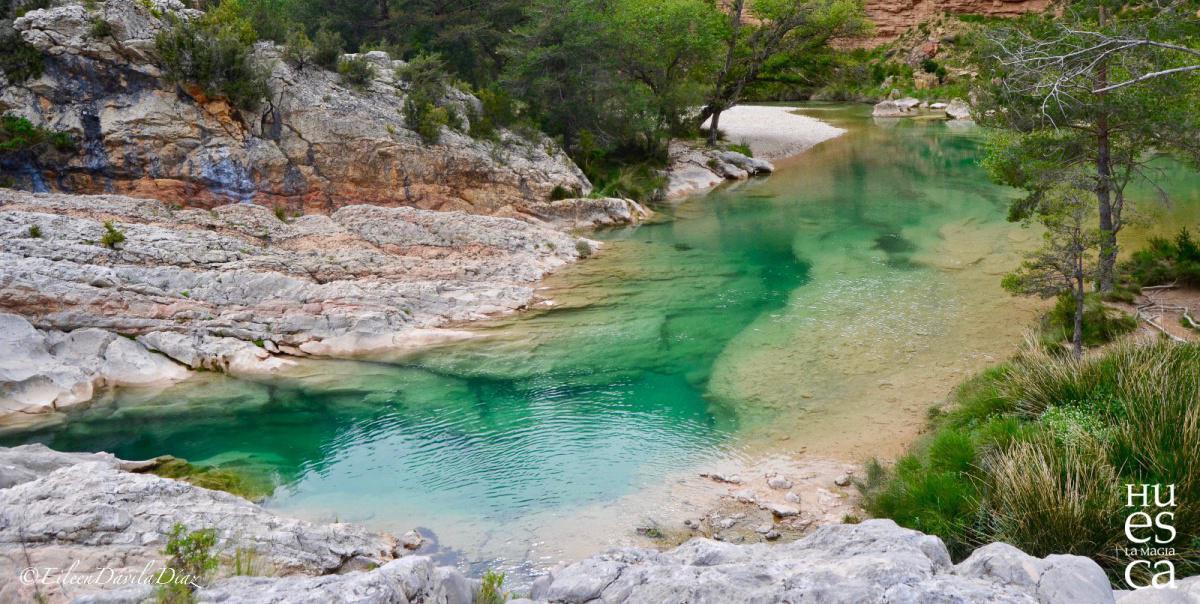 Fuente y estrechos de Tamara. La Magia de los ríos de Guara