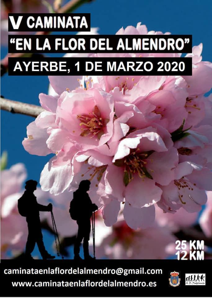 """V Caminata """"En la flor del almendro"""" - Ayerbe (Huesca)"""
