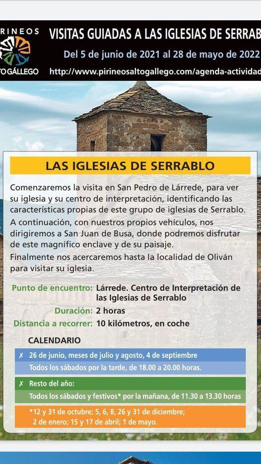 Visitas Guiadas: Ruta de las Iglesias del Serrablo. Valle de Tena/Huesca
