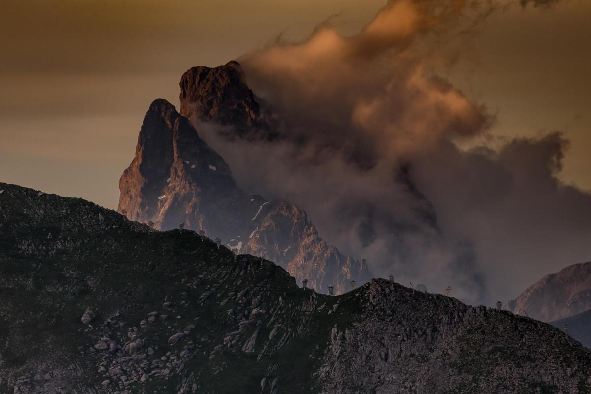 Mirador del Pirineo. Aventuras sobre ruedas