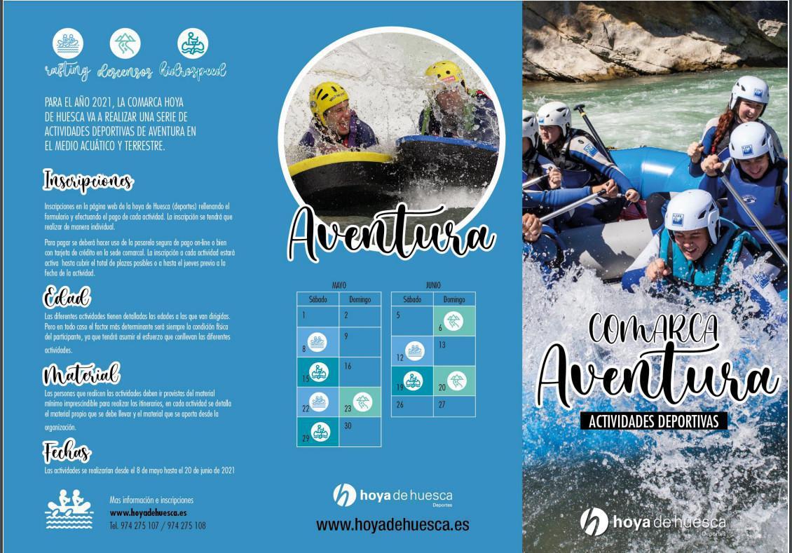 ¡Atrévete esta primavera!: Comarca Aventura 2021 , Hoya de Huesca