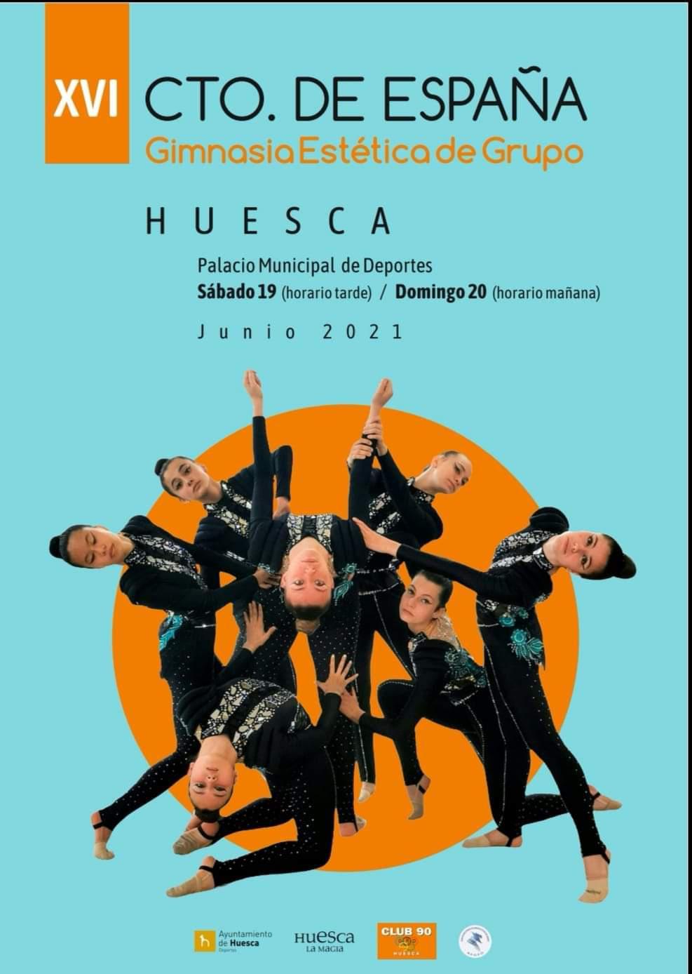 Campeonato de España de Gimnasia Estética de grupo en Huesca