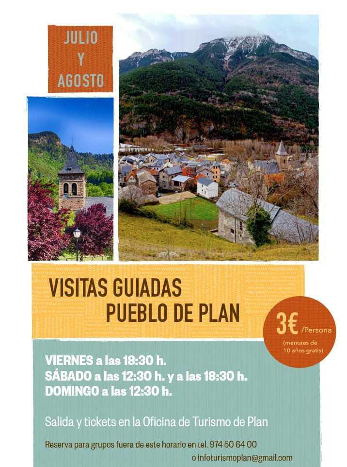 Visitas guiadas a la localidad de PLAN (Huesca)