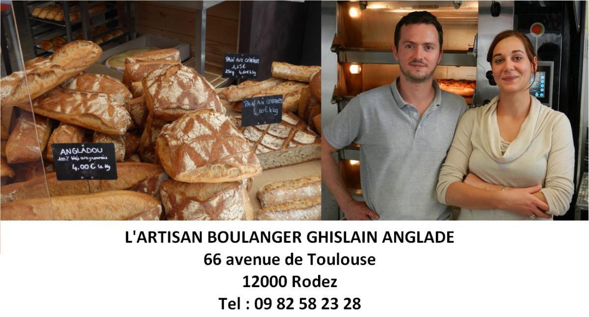 Une nouvelle adresse pour collecter des points : L'Artisan Boulanger Ghislain ANGLADE