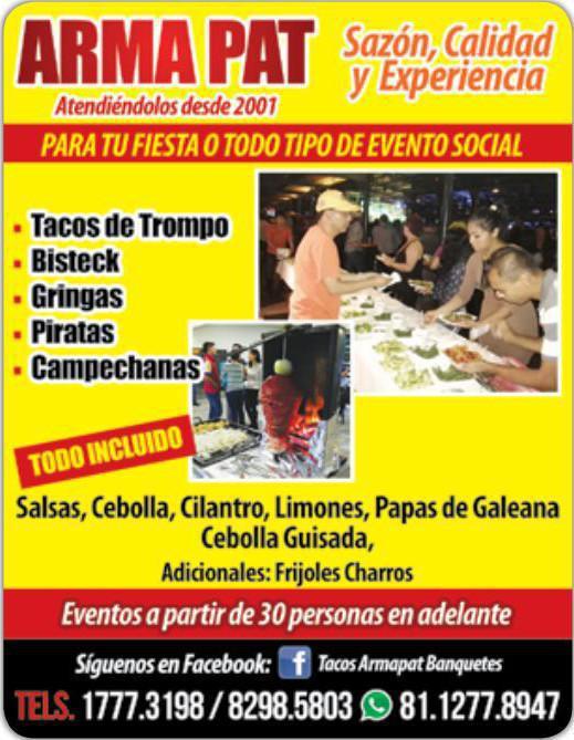 Tacos Armapat Banquetes