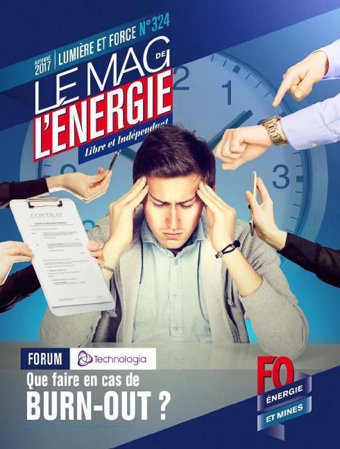 Le Mag. de l'énergie FO Énergie et Mines n°324 - automne 2017