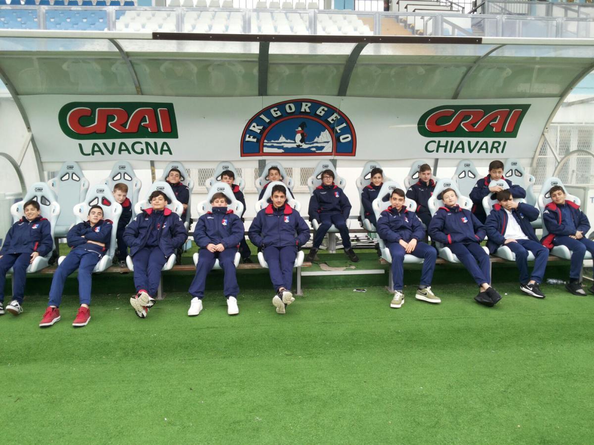 Giovanissimi 2004 e...la vittoriosa trasferta di Chiavari!