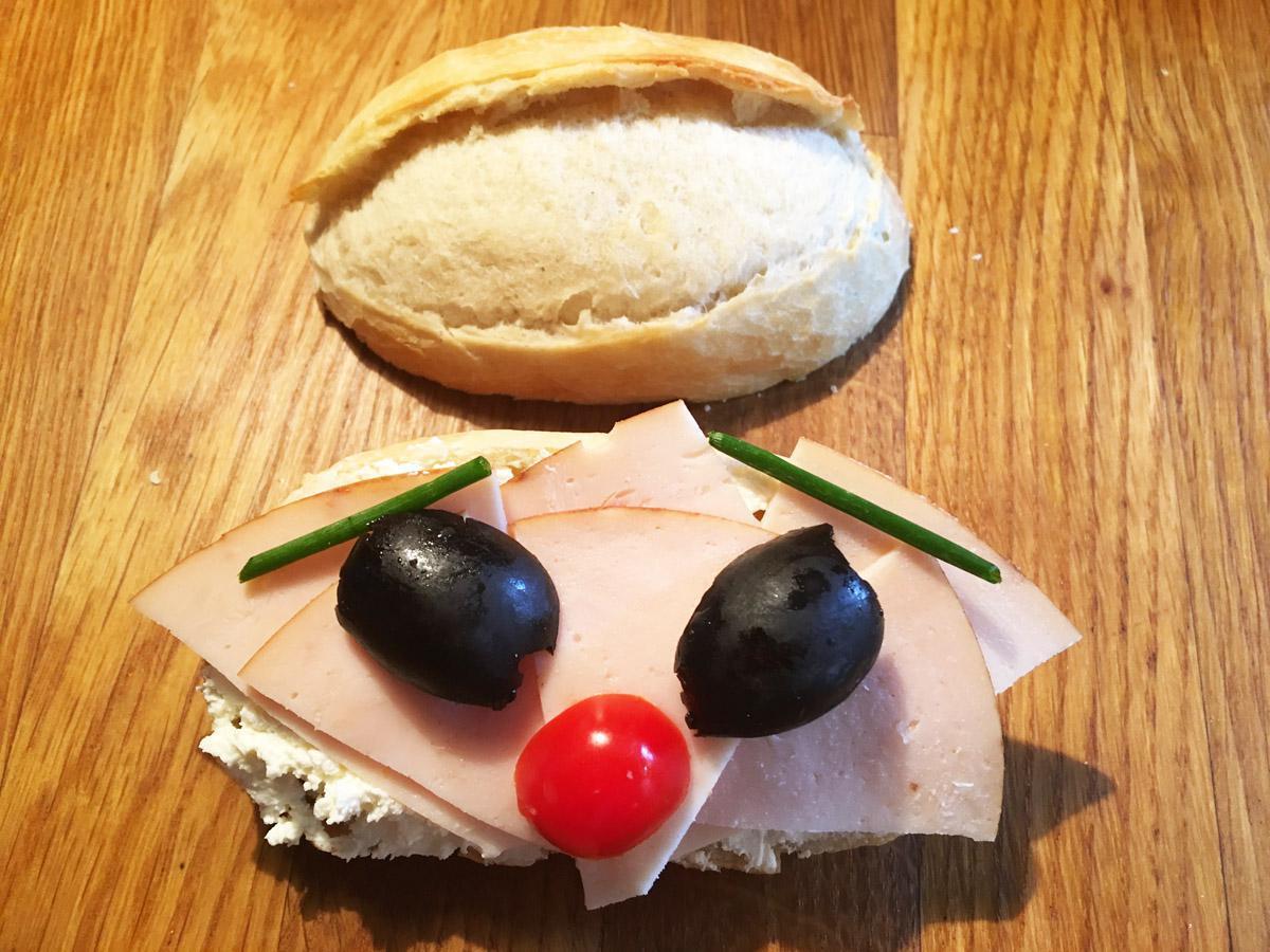 Petits pains rigolos