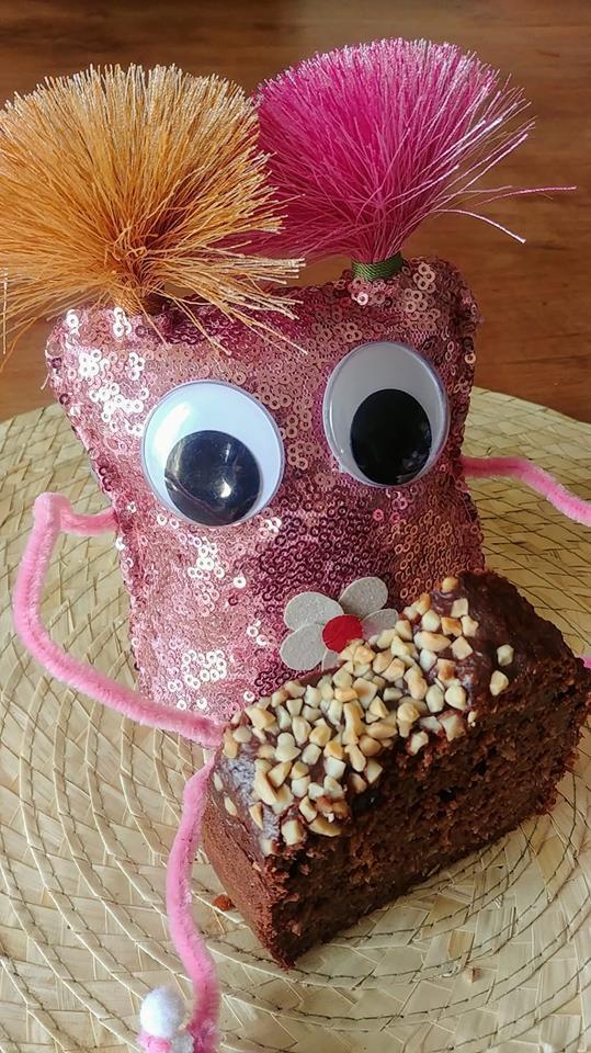 Gâteau au chocolat peu sucré et sans beurre