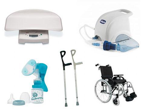 Noleggio apparecchi sanitari