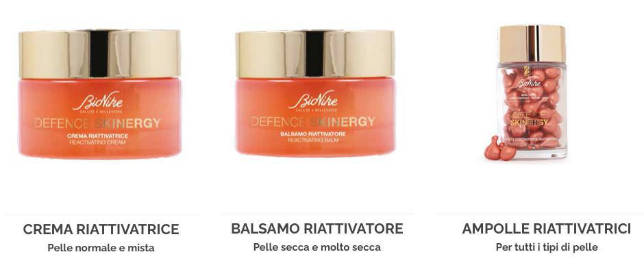 Novità Defence Skinergy