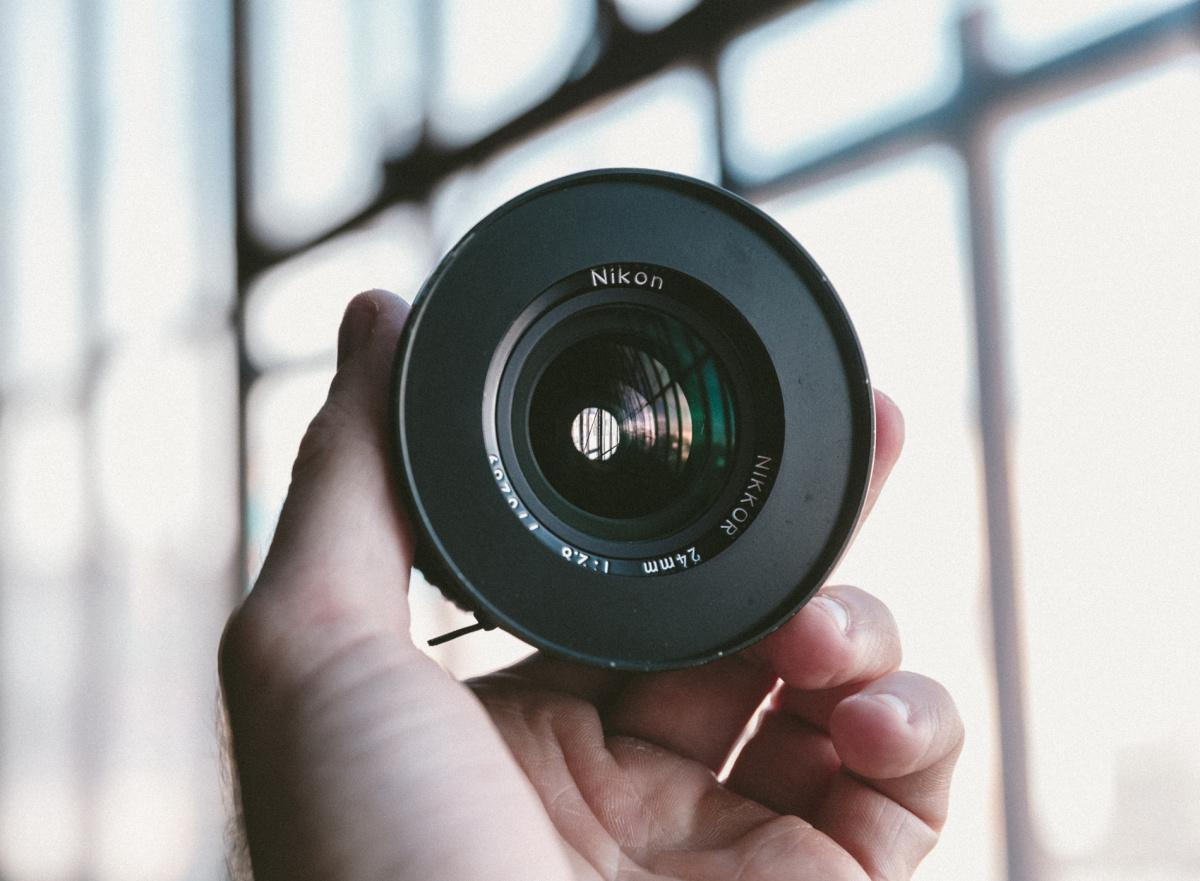 New lenses - our crash test