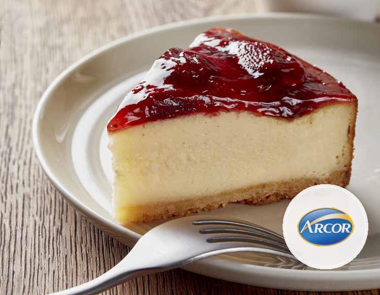 Arcor te sugiere: Cheesecake con mermelada de frutilla