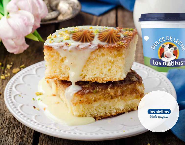 Los Nietitos te sugiere: Brownies de coco y dulce de leche