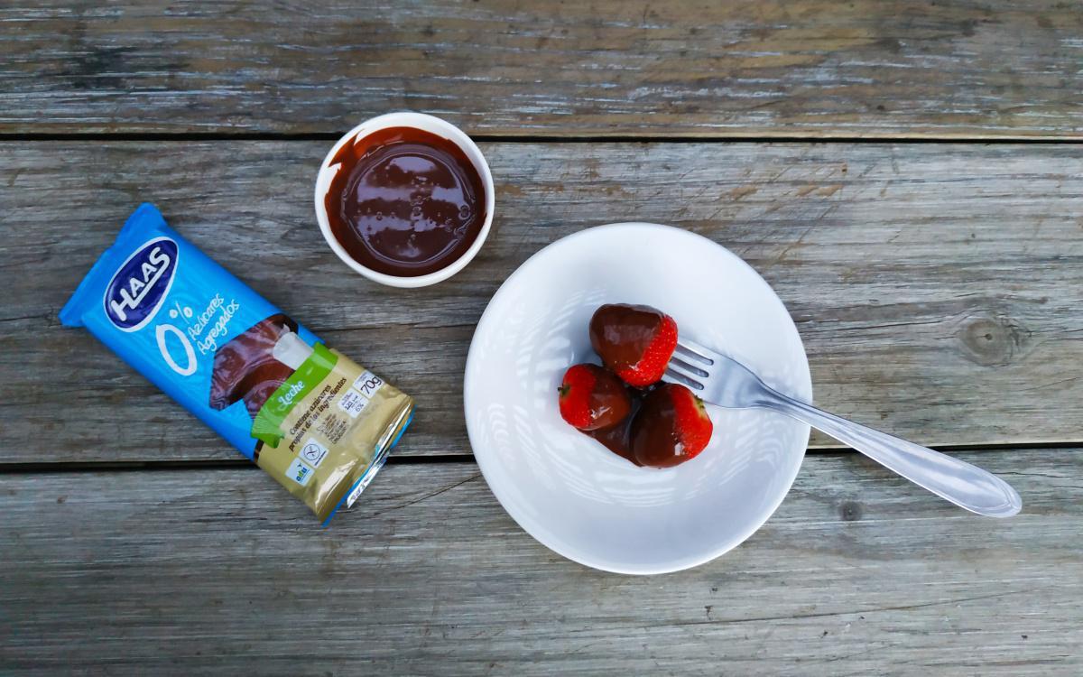 ¡Un pique deli con chocolate HAAS!