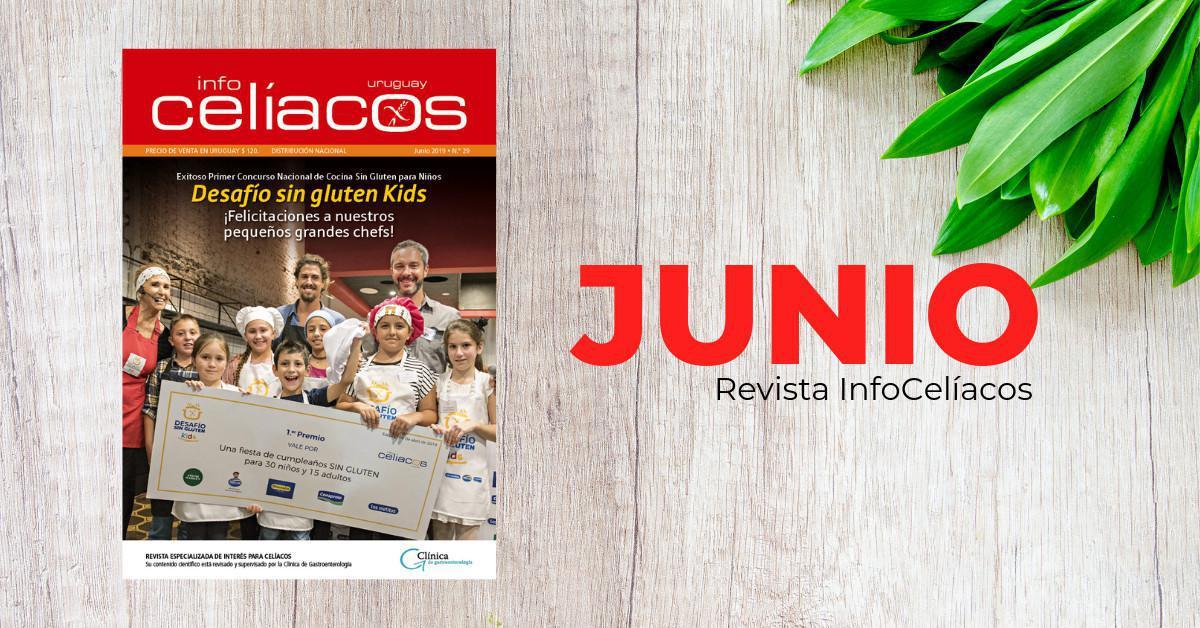 Revista InfoCelíacos Junio