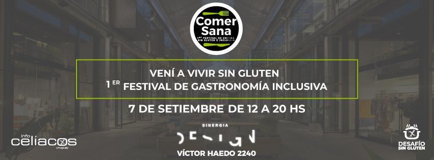 Comer Sana - 1er Festival de Gastronomía Inclusiva