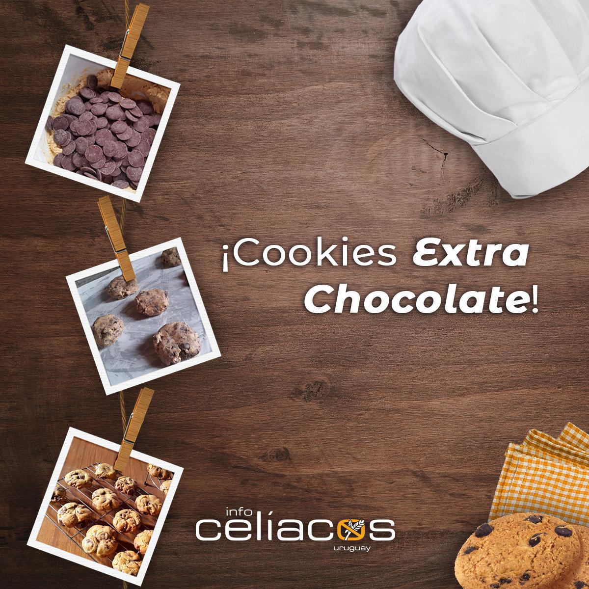 Receta Cookies Extra Chocolate