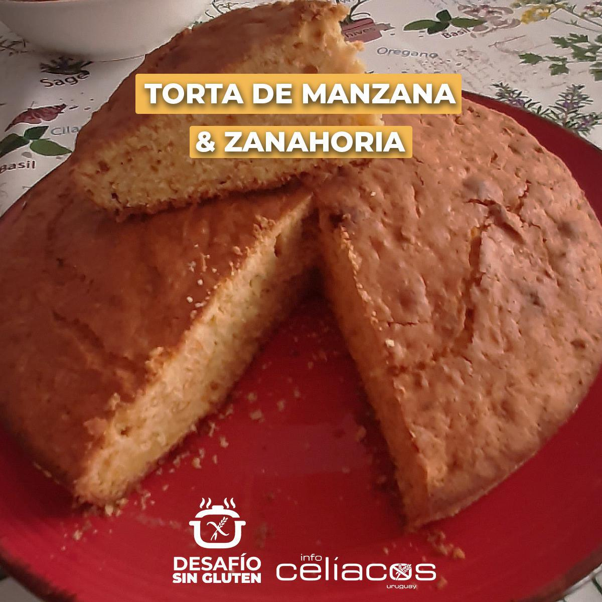 Receta de Torta de Manzana y Zanahoria