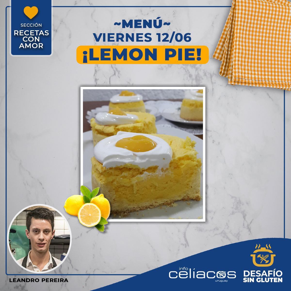 Receta Lemon Pie- Recetas con Amor