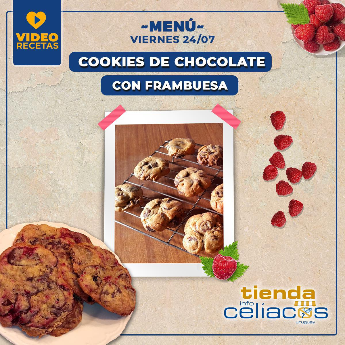 Cookies extra chocolate