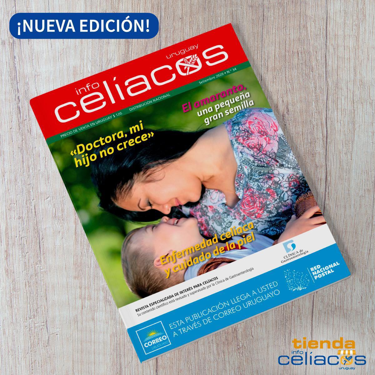 Revista Infocelíacos Setiembre