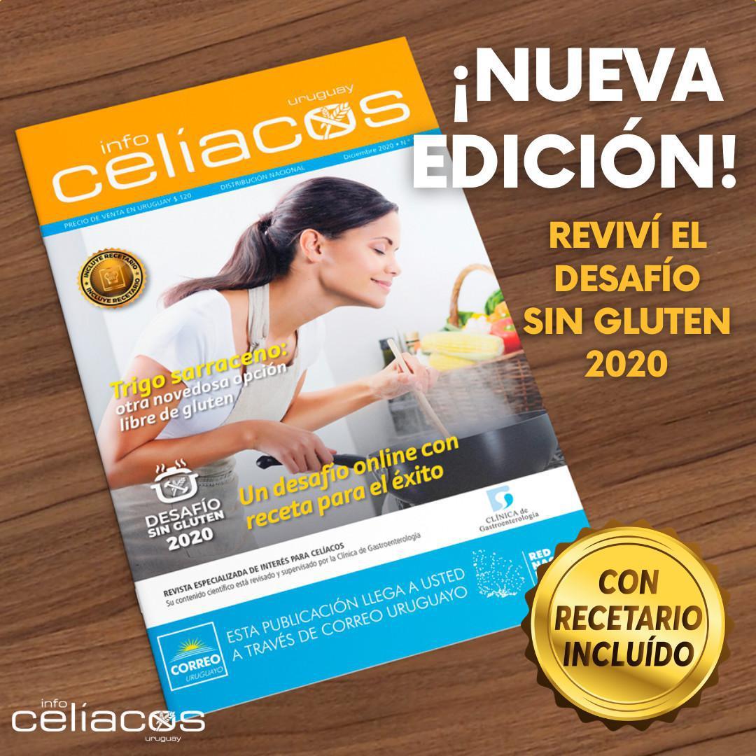 Revista InfoCelíacos Diciembre 2020