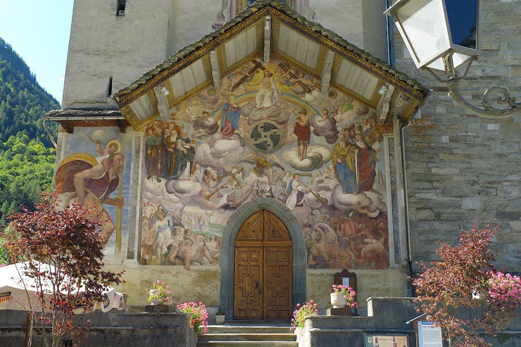 Chiesa di San Michele - Riva Valdobbia