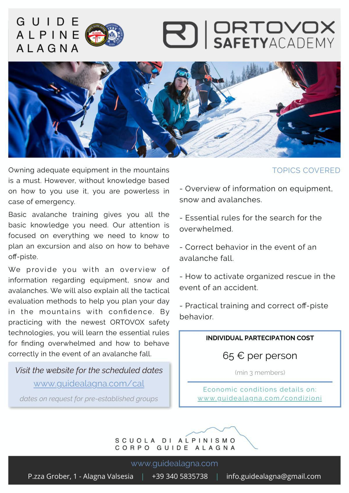 Mountaineering school Guide Group Alagna