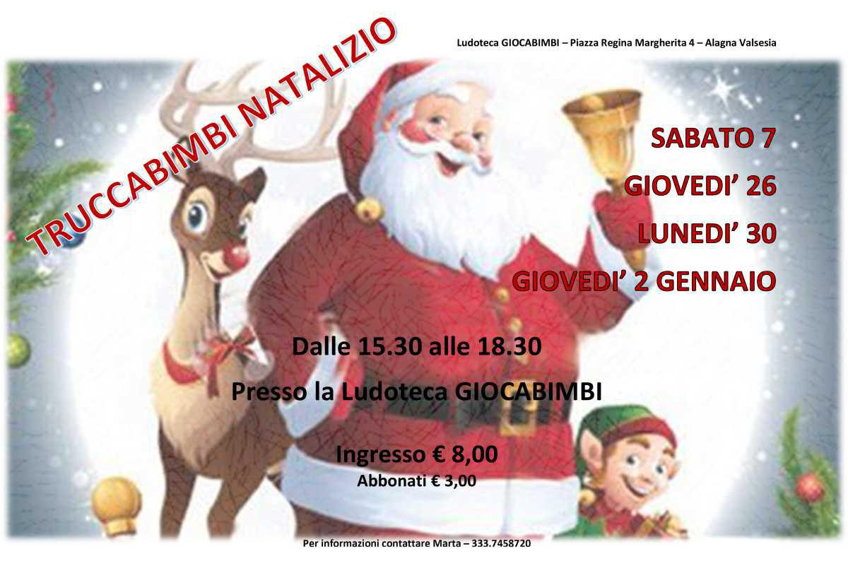 Truccabimbi Natalizio - Christmas Themed Make-Up for Children