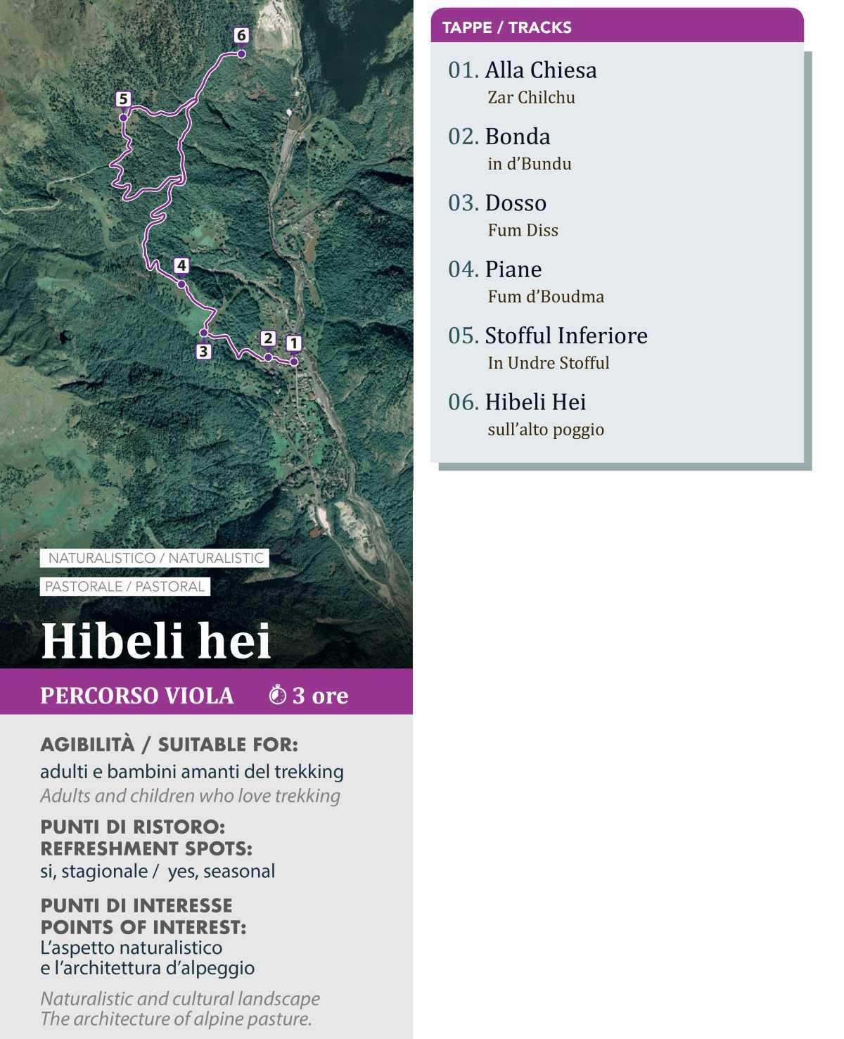 Giro delle Frazioni Hibeli Hei - Alagna Valsesia