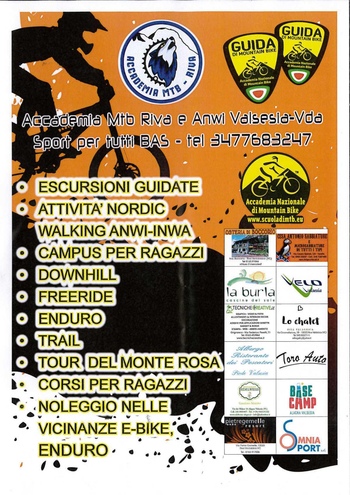 Accademia Mtb e Anwi - Riva Valdobbia