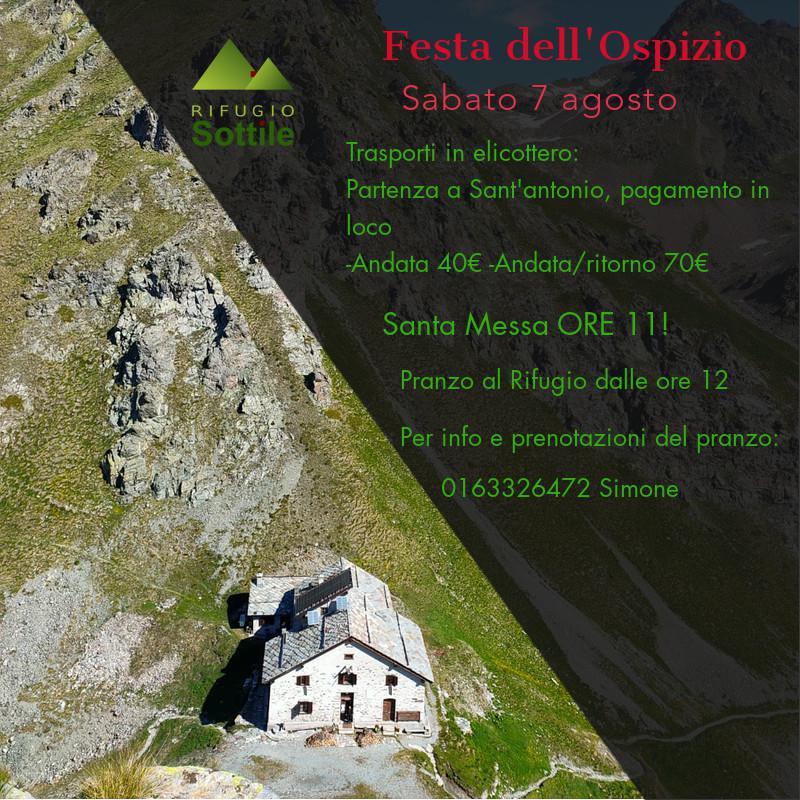 Festa del rifugio Ospizio Sottile - Valle Vogna