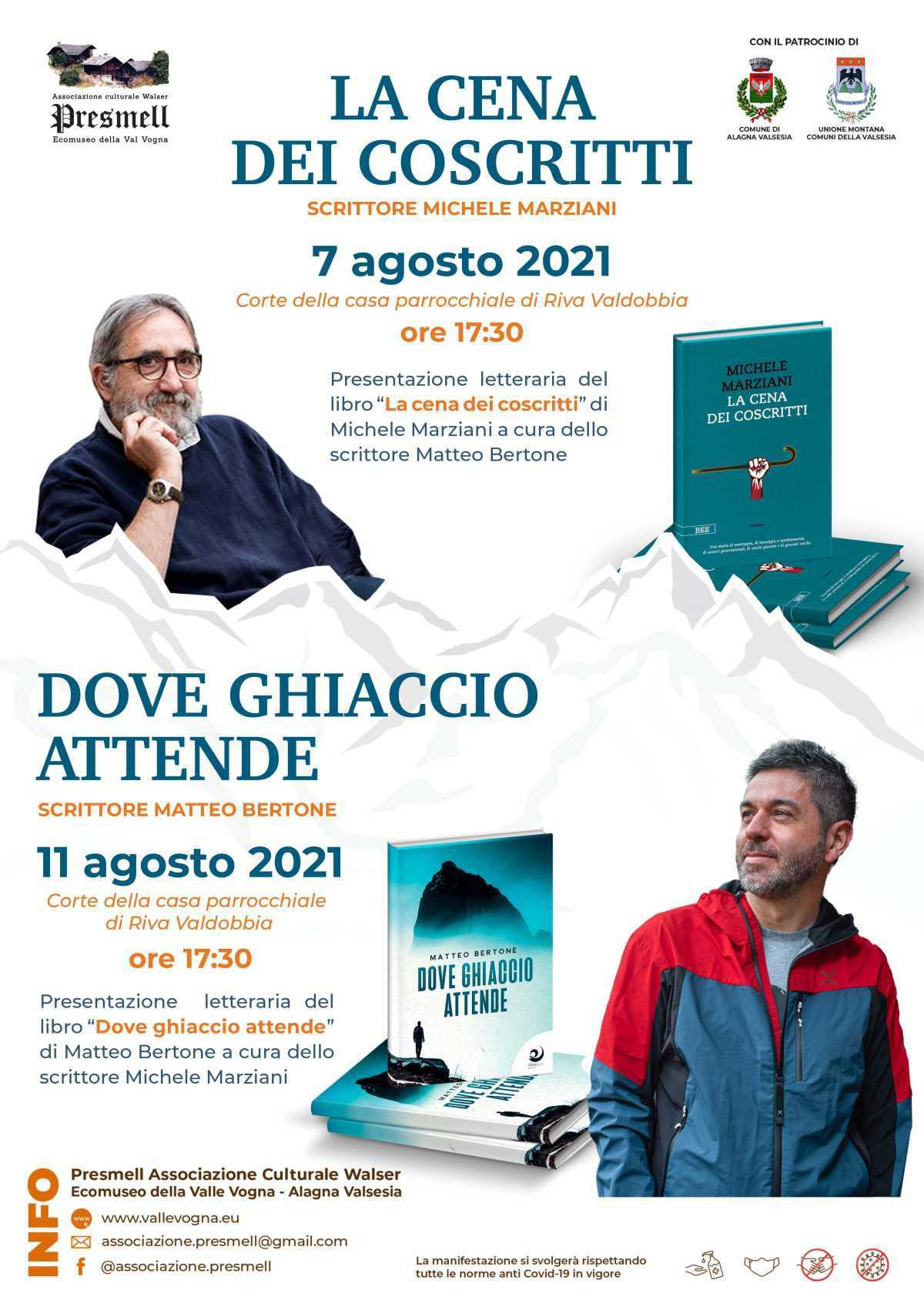 Presentazione del libri - Riva Valdobbia