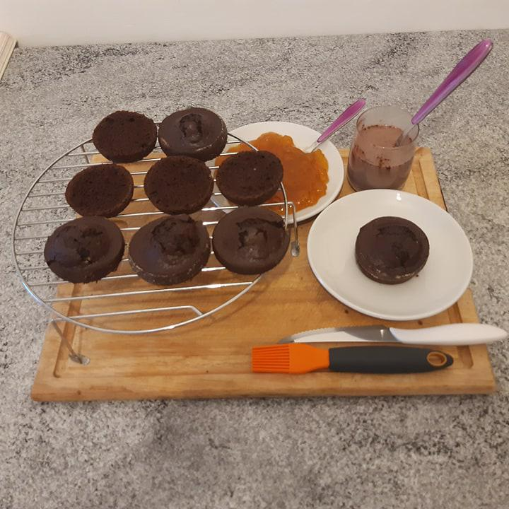 Tortino cioccofrutta