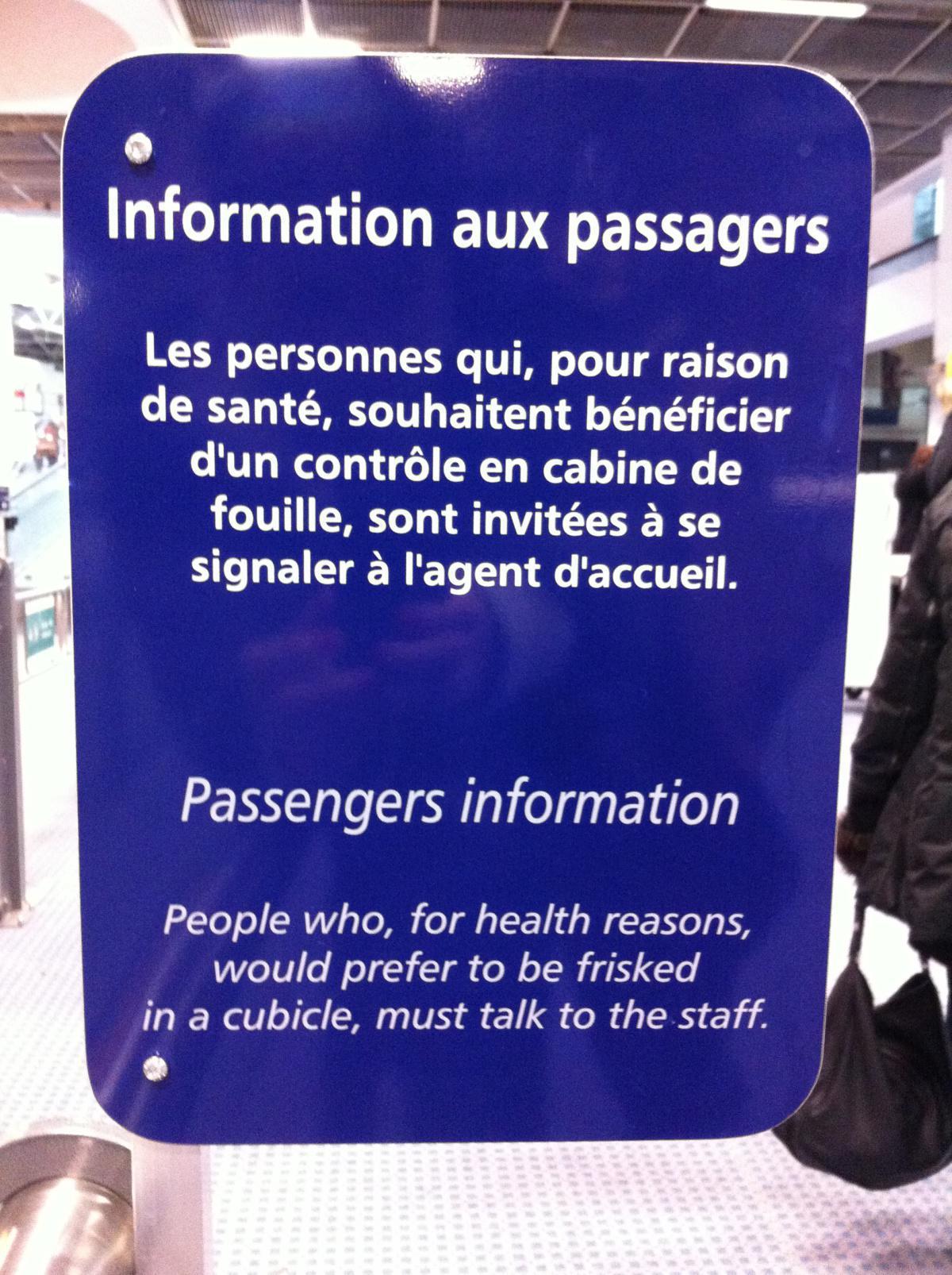 AEROPORT DE MARSEILLE : une procédure de contrôle de sécurité spécifique pour les malades
