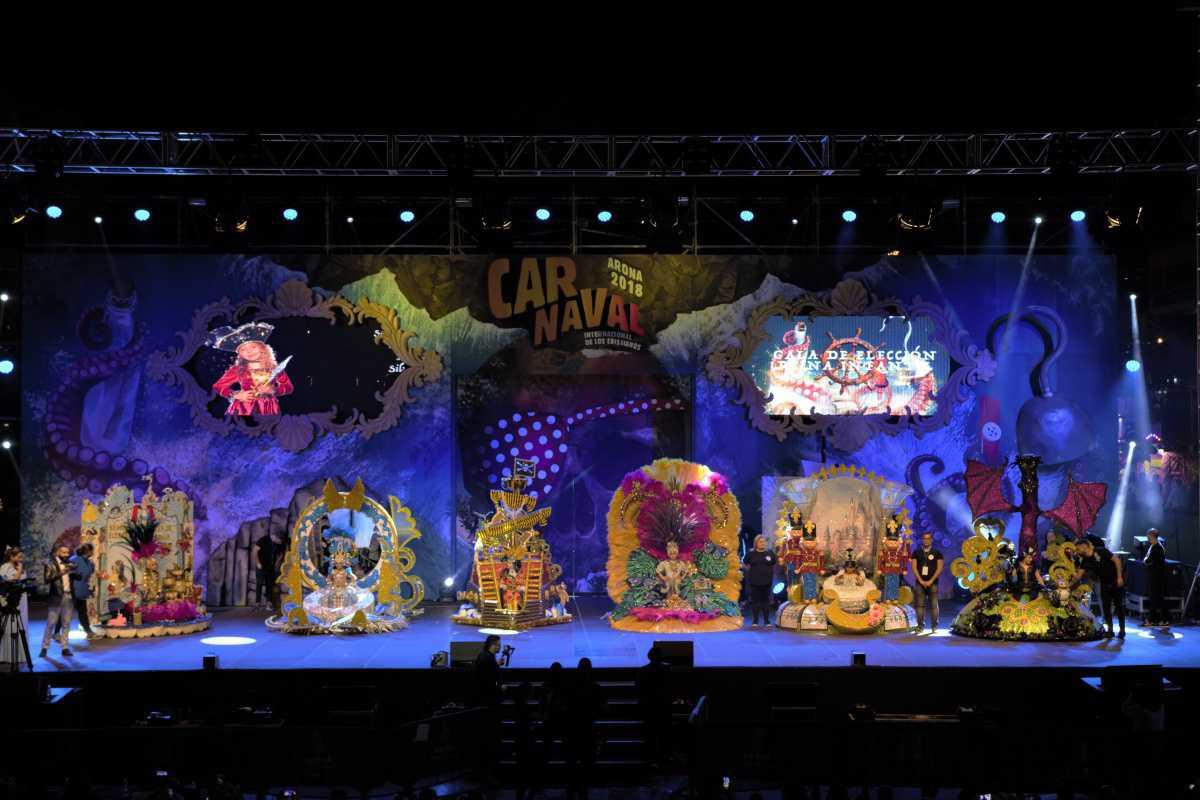 Leonor Jimeno Herrera, de 6 años, es ya la Reina Infantil del Carnaval Internacional de Los Cristianos 2018