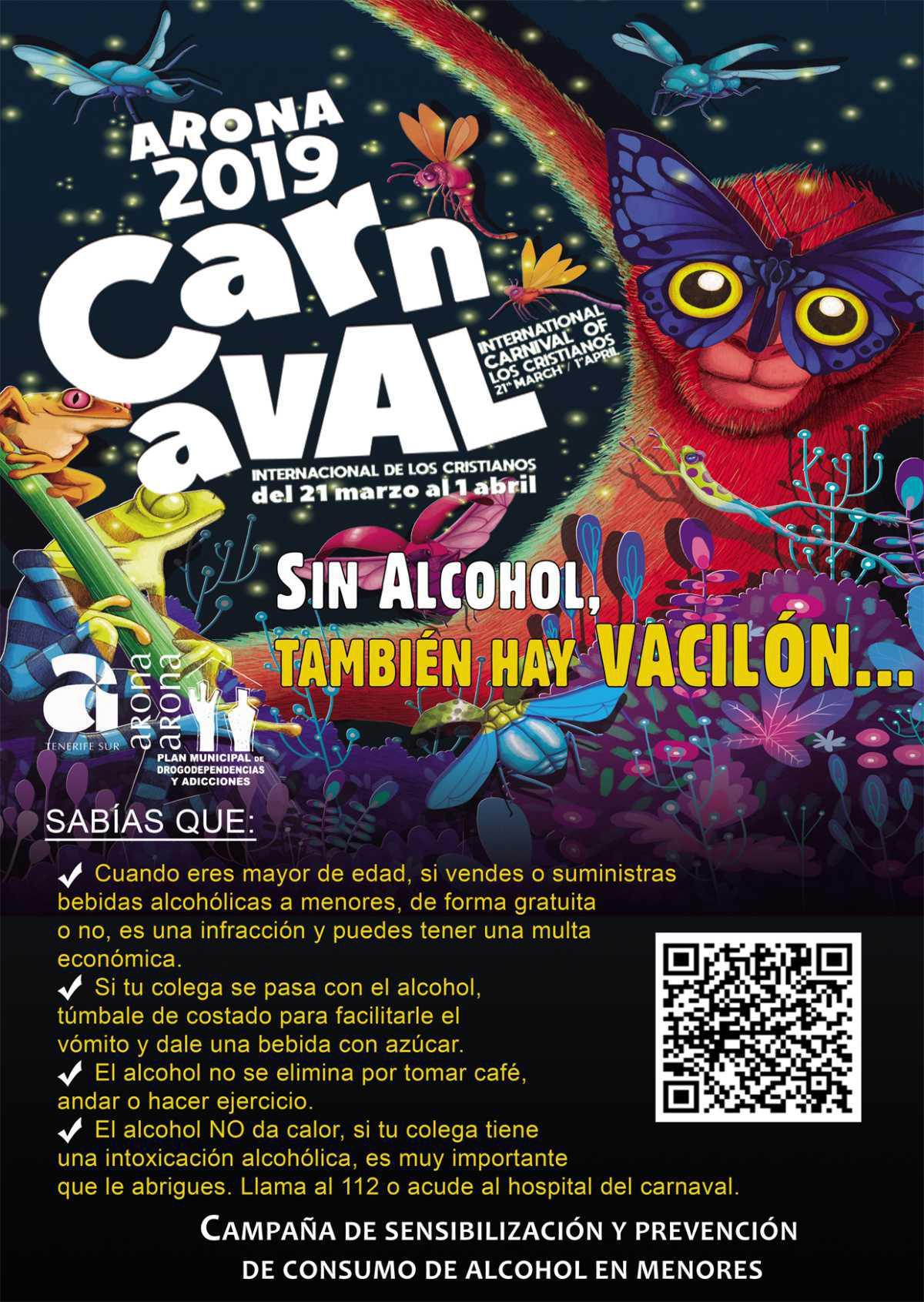 En Carnaval, sin alcohol también hay vacilón