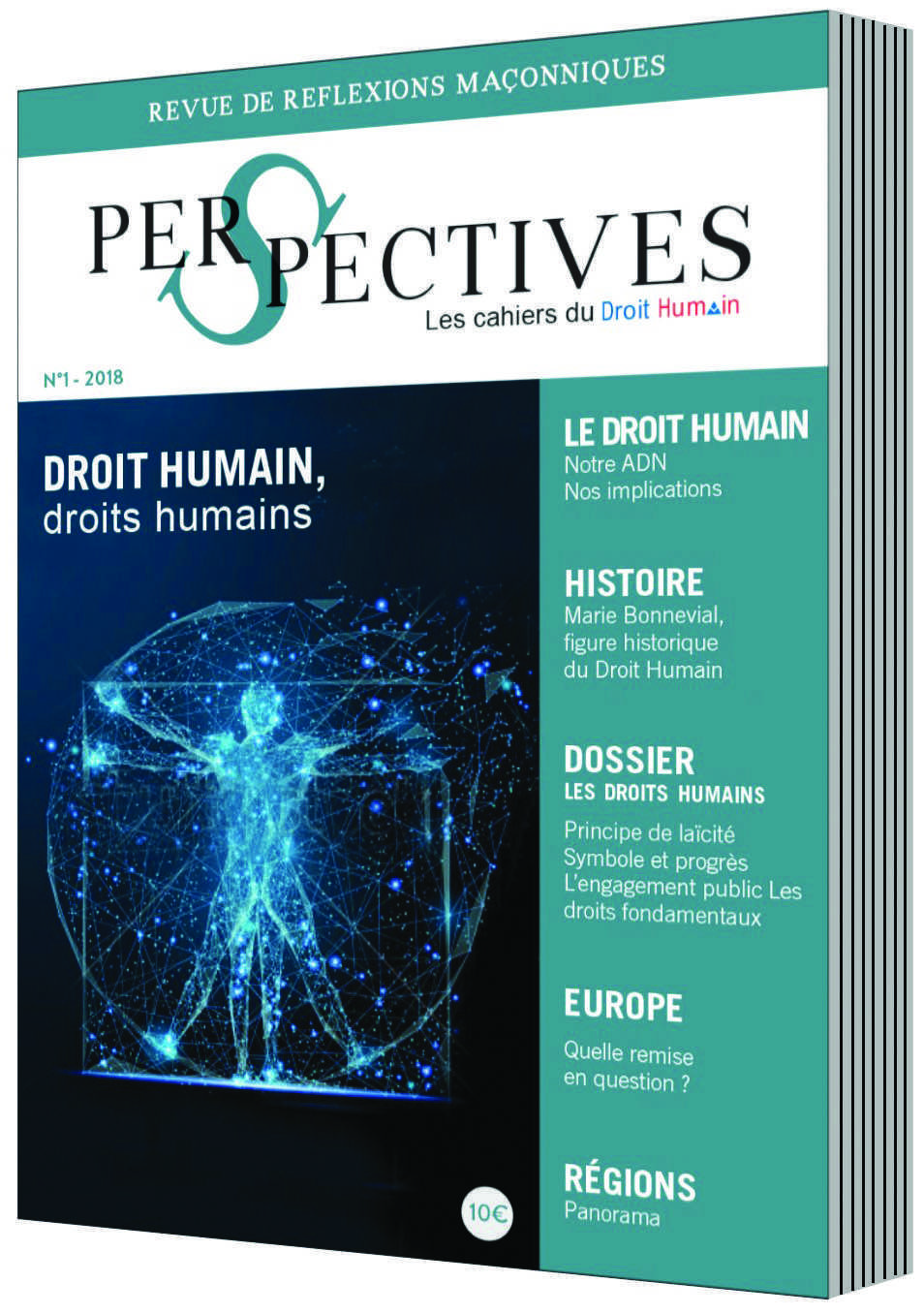 Le N°1 de la Revue Perspectives du DROIT HUMAIN