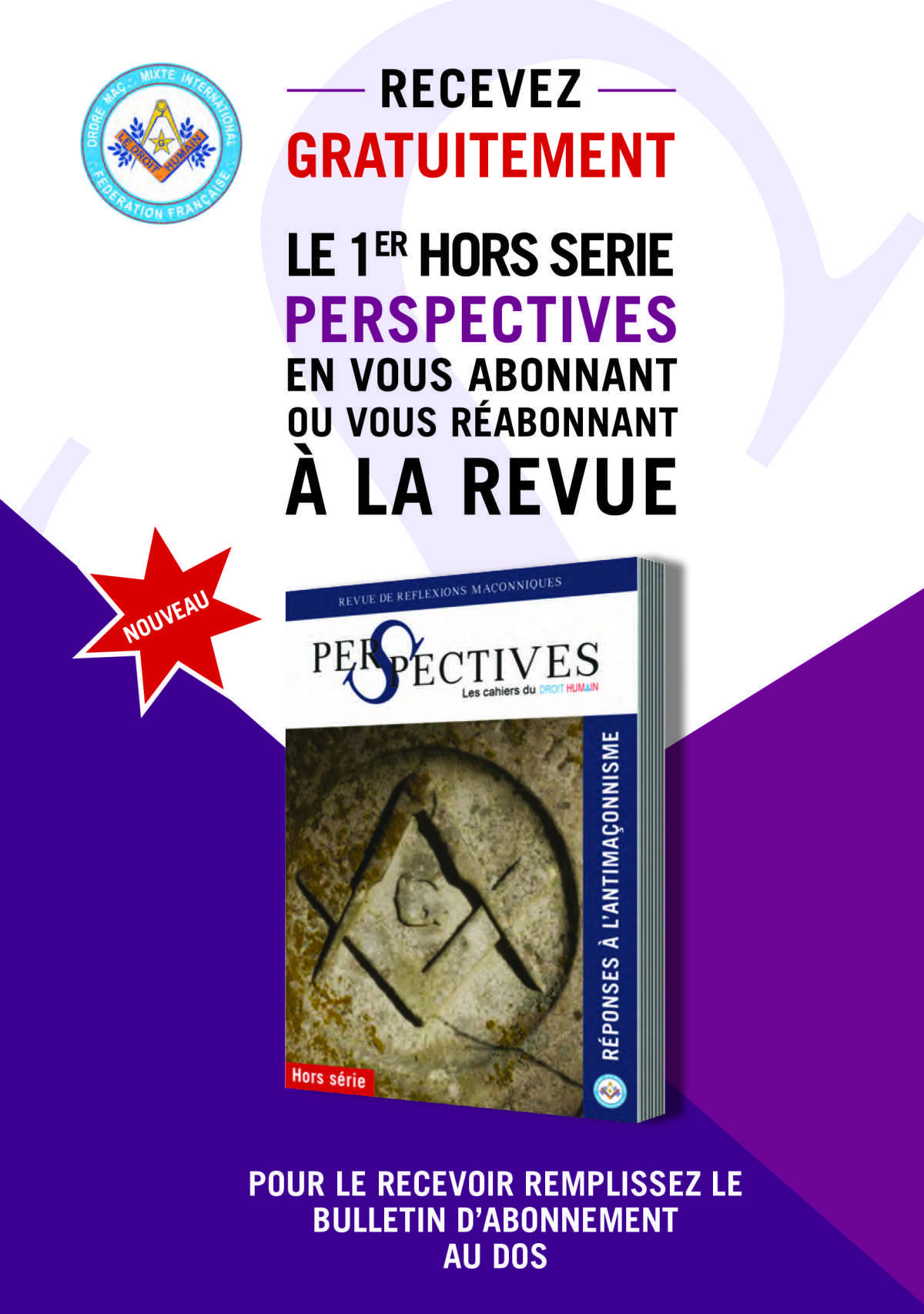 N°3 de la Revue Perspectives et hors série