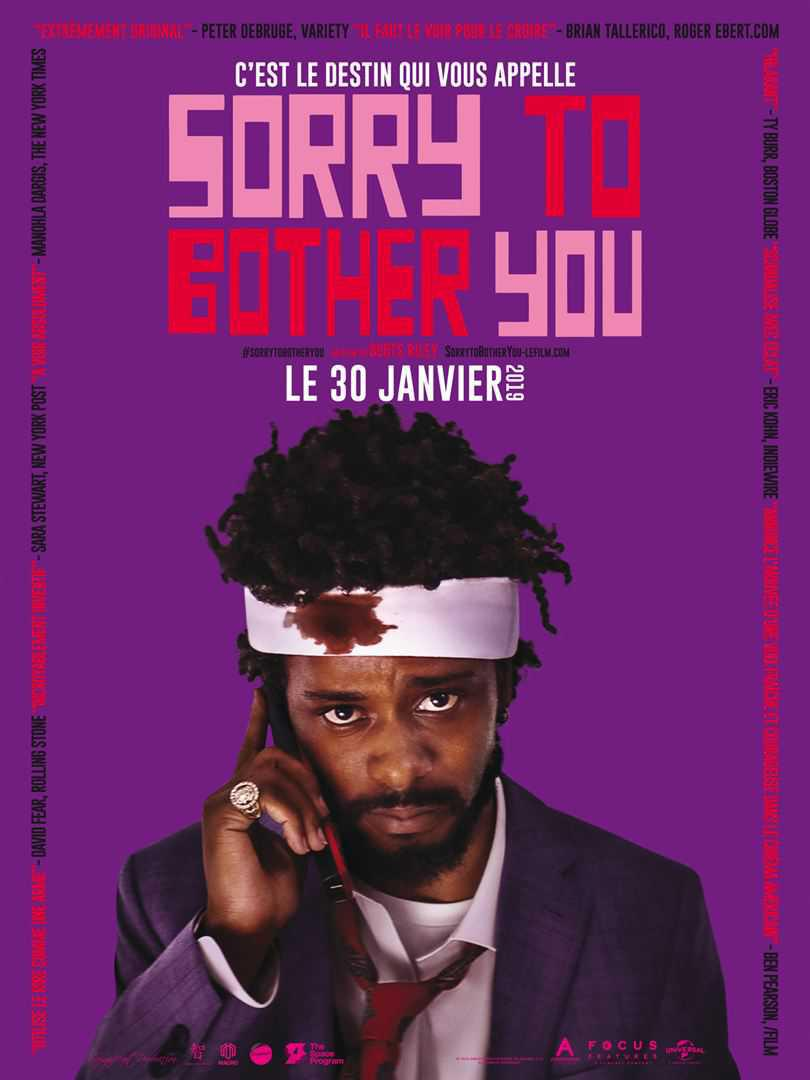 Sorry to bother you - dès le 30 janvier 2019